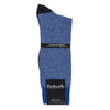 Blue Cashmere Blend Contrast Socks for Men | buy now at The Cashmere Choice London
