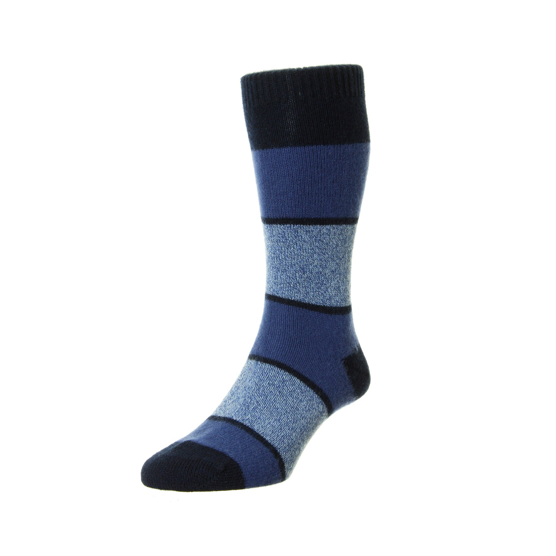 Pantherella - Mens Cashmere Socks - Striped 5786