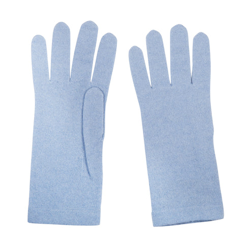 Pale Blue Ladies Cashmere Gloves | buy now at The Cashmere Choice London