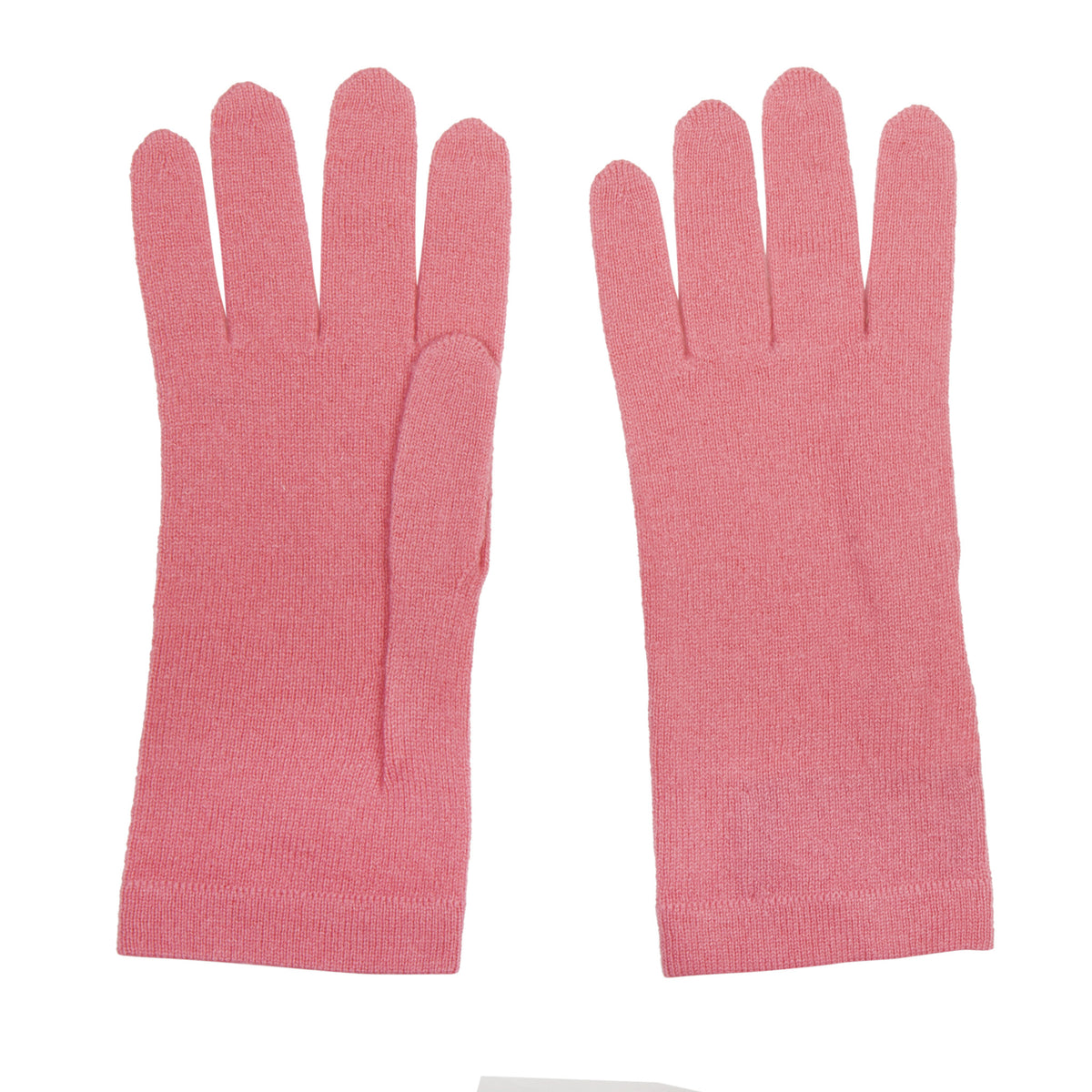 Ladies Coral Pink Cashmere Gloves | Shop now at The Cashmere Choice | London