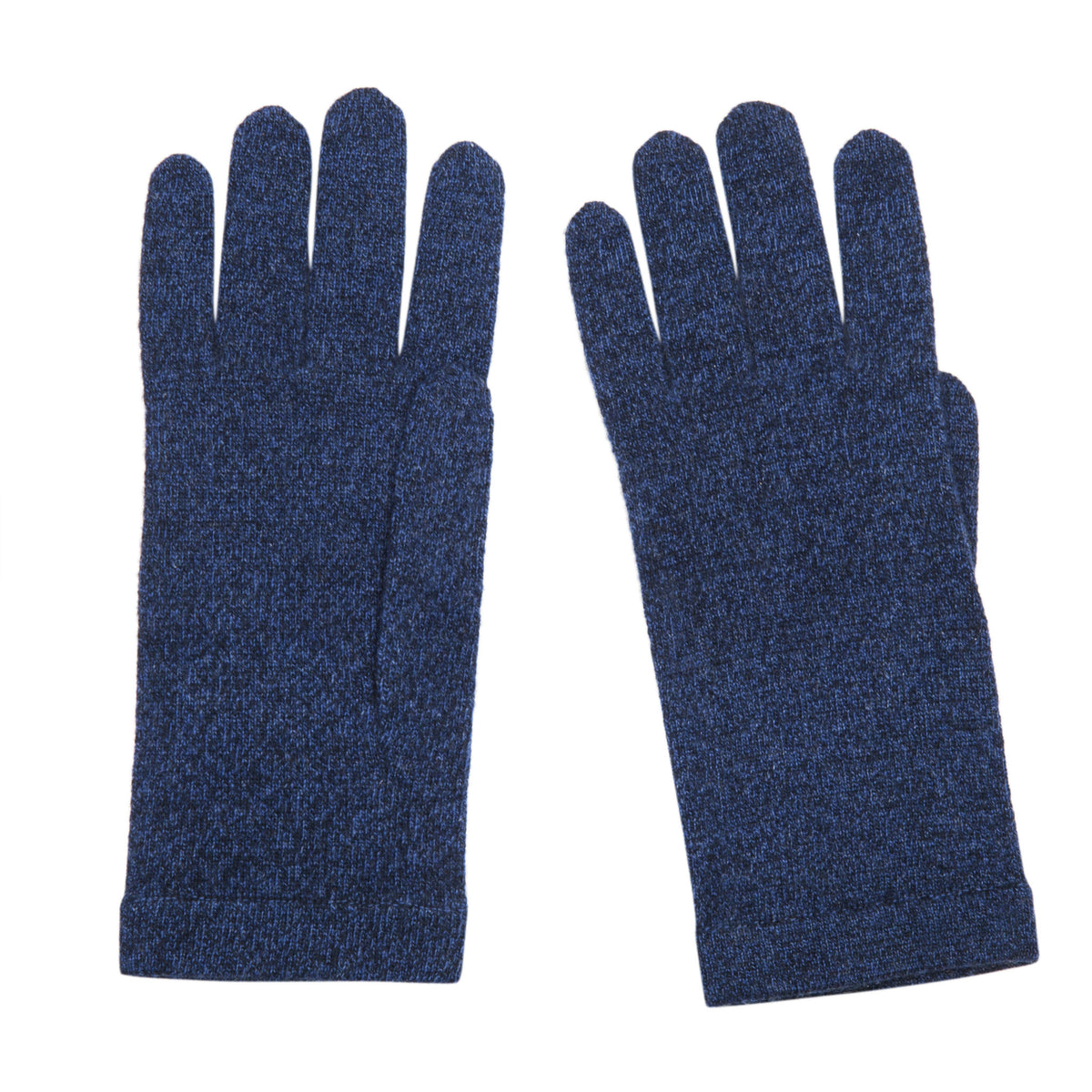 Ladies Dark Blue Cashmere Gloves | Shop now at The Cashmere Choice | London