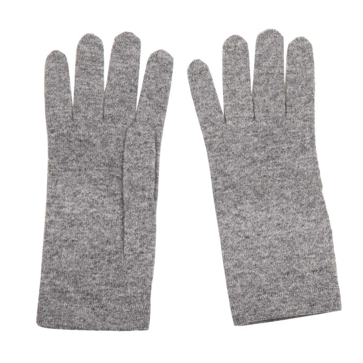 Ladies Mid Grey Cashmere Gloves | Shop now at The Cashmere Choice | London