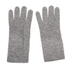 Mid Grey Ladies Cashmere Gloves | buy now at The Cashmere Choice London