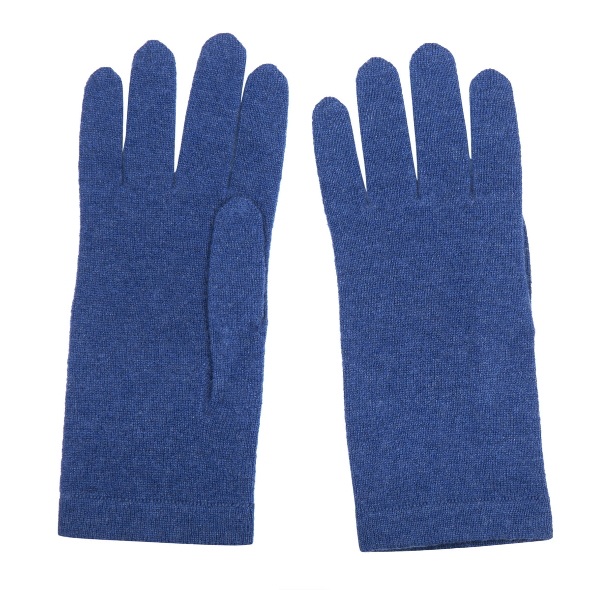 Ladies Denim Blue Cashmere Gloves | Shop now at The Cashmere Choice | London