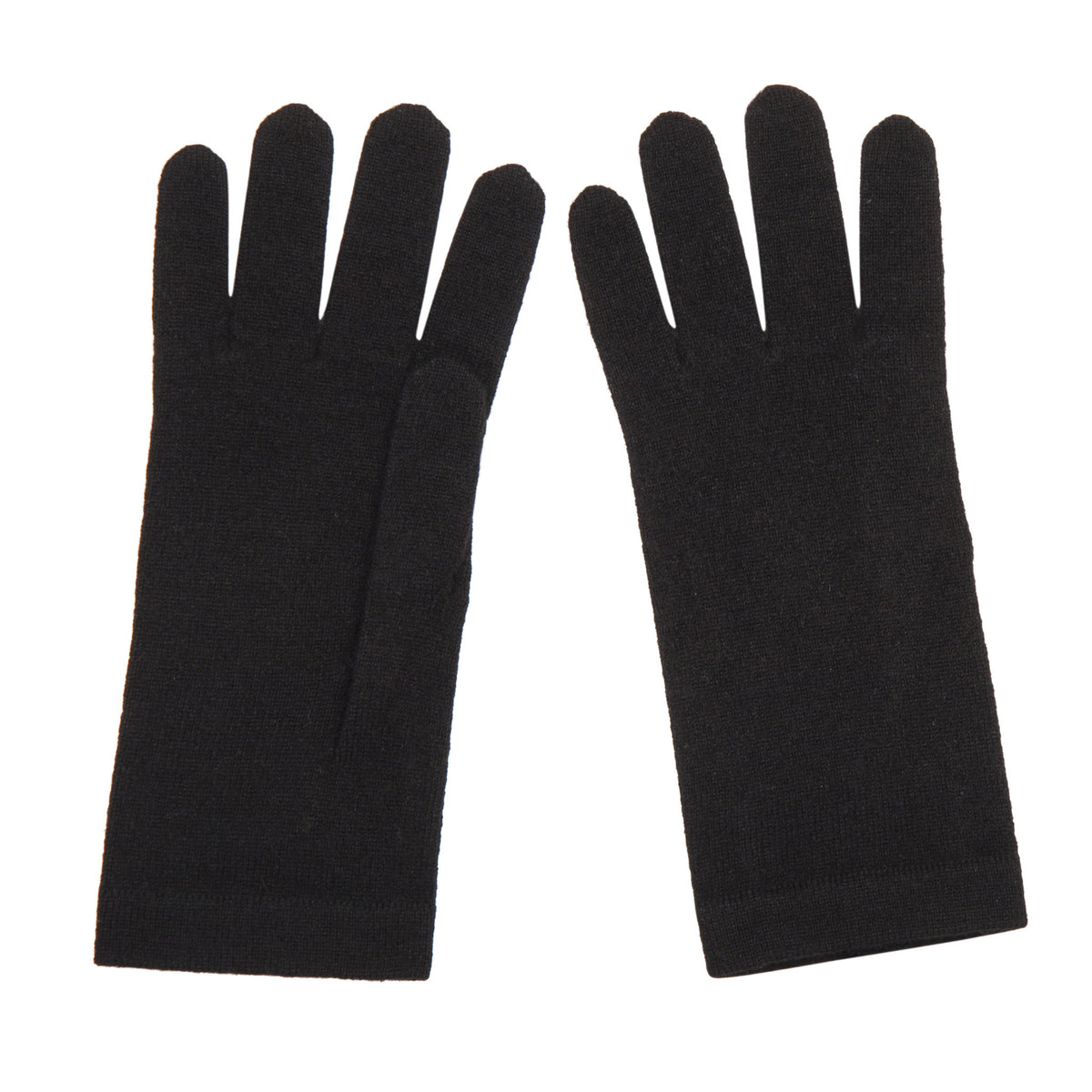 Ladies Black Cashmere Gloves | Shop now at The Cashmere Choice | London