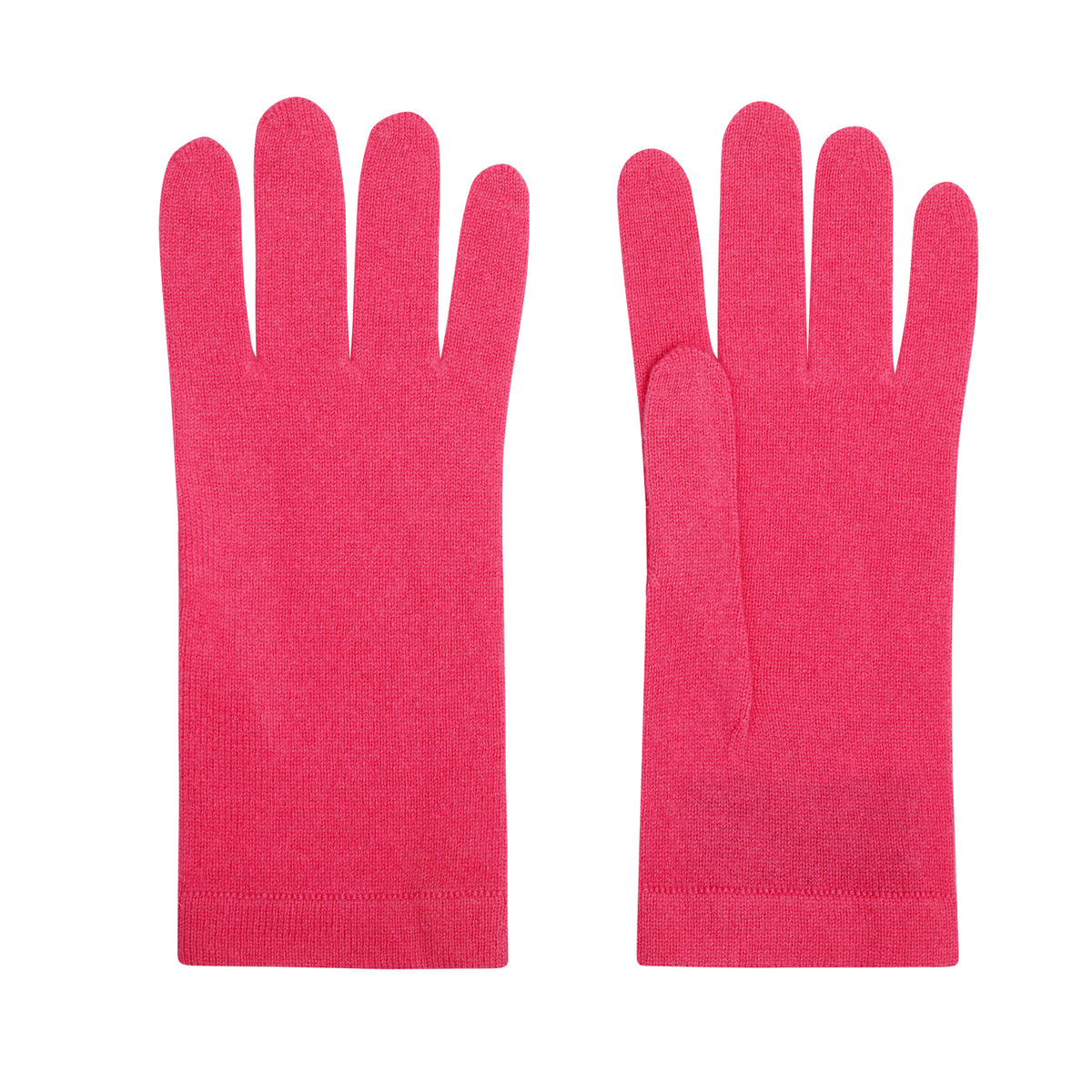 Ladies Lipstick Pink Cashmere Gloves | Shop now at The Cashmere Choice | London