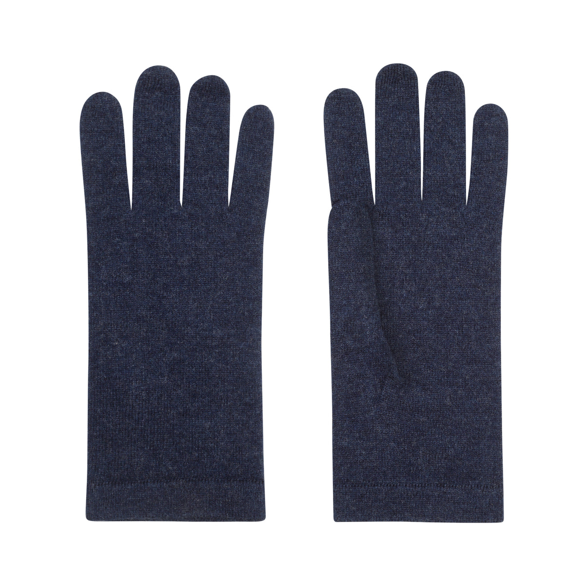 Ladies Navy Blue Cashmere Gloves | Shop now at The Cashmere Choice | London