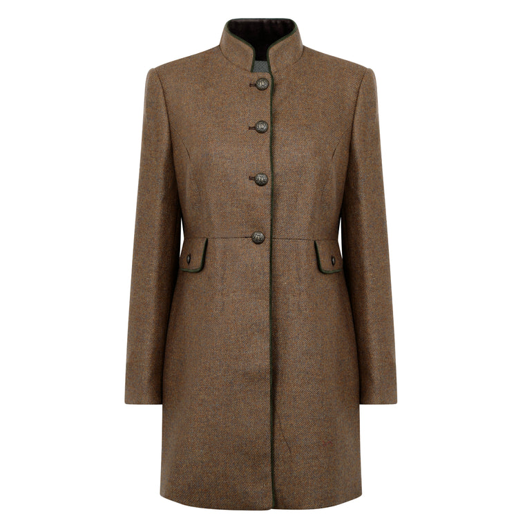 Bariloche | Brown | Ladies Wool Coat | Shop now at The Cashmere Choice | London