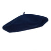 Dark Blue Bleu Nuit French Beret | Wool Beret| buy now at The Cashmere Choice London