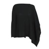 Black | Pure Cashmere Poncho | buy now at The Cashmere Choice London