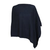 Navy Blue | Pure Cashmere Poncho | buy now at The Cashmere Choice London