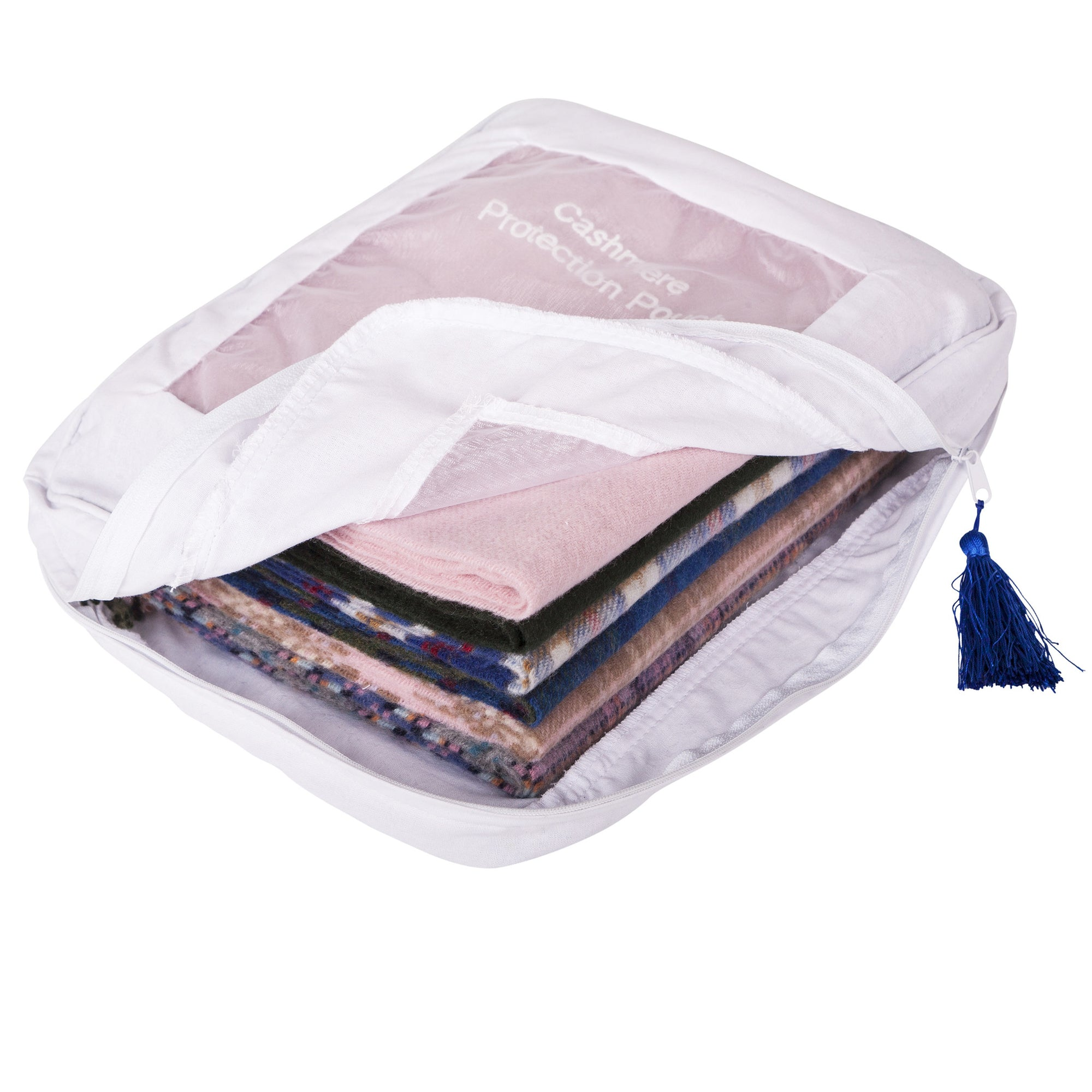 Anti Moth | Cashmere Storage Bag for Sweaters | Cashmere Storage Pouch | buy now at The Cashmere Choice London