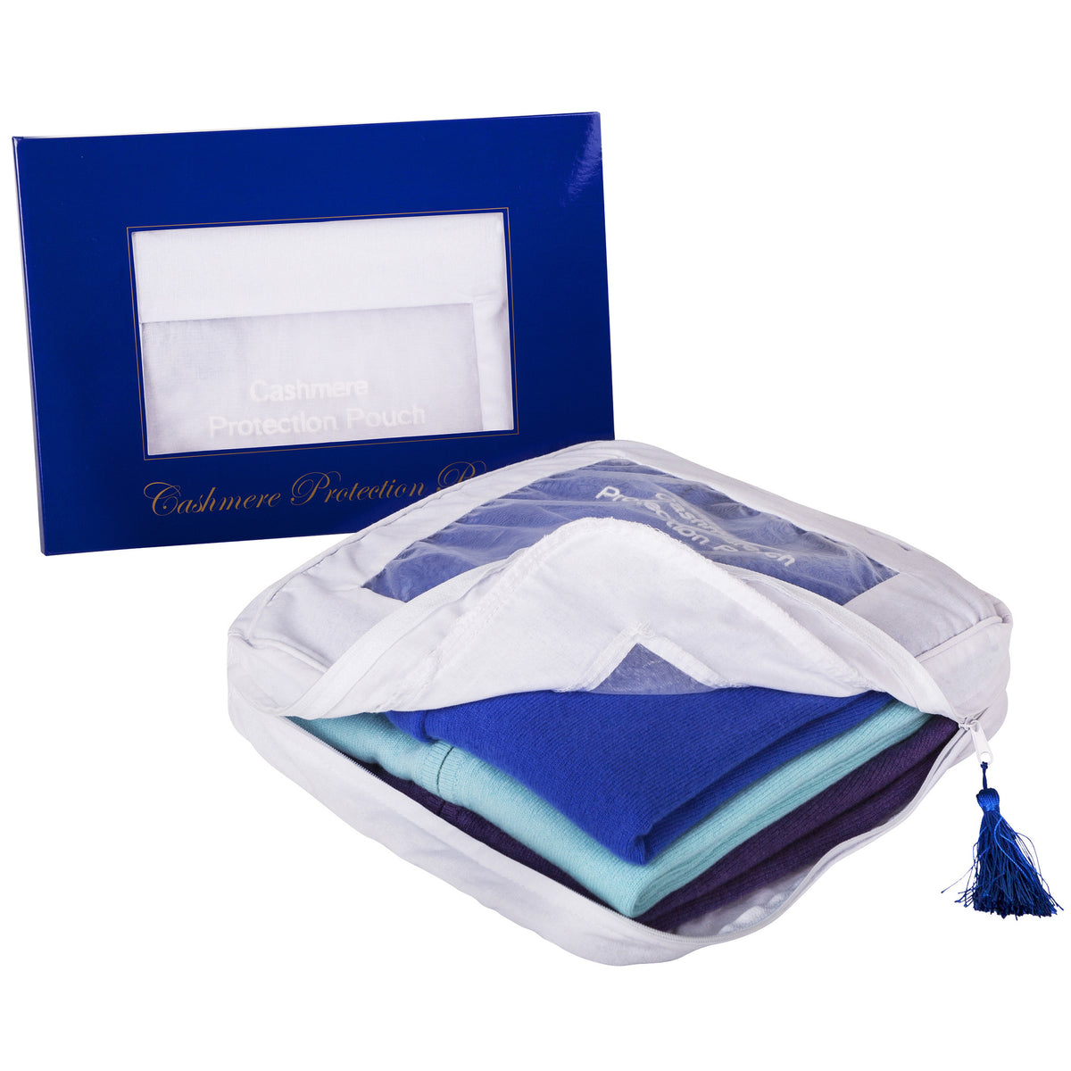 Anti Moth | Cashmere Storage Bag | Cashmere Storage Pouch | buy now at The Cashmere Choice London