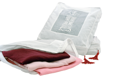 Total Wardrobe Care | Cashmere Storage Bag | buy at The Cashmere Choice | London
