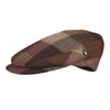 Multicolour Tweed Flat Cap | Autumn Herringbone | buy now at The Cashmere Choice London