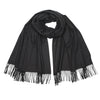 Johnsons of Elgin | Johnstons Cashmere | Charcoal Grey Cashmere Stole | Large Scarf | buy at The Cashmere Choice | London