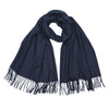 Johnsons of Elgin | Johnstons Cashmere | Navy Blue Cashmere Stole | Large Scarf | buy at The Cashmere Choice | London