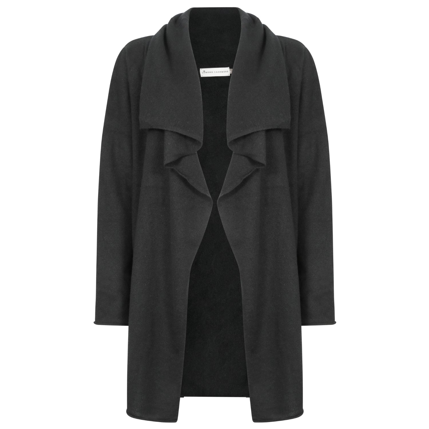 53812af400 Shop for Ladies Pure Cashmere Waterfall Open Cardigan - The Cashmere ...