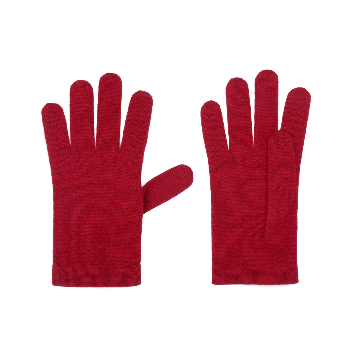 Ladies Bordeaux Wine Cashmere Gloves | Shop now at The Cashmere Choice | London