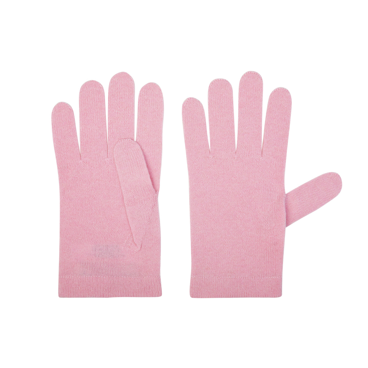 Ladies Pale Pink Cashmere Gloves | Shop now at The Cashmere Choice | London