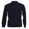 Mens Navy Blue Cashmere Sweater | Jumper | Polo Shirt | buy now at The Cashmere Choice London