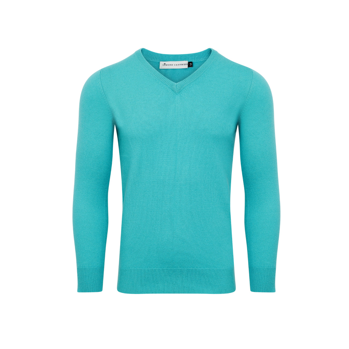 Lomond - Mens Slim Fitted Cashmere V Neck Sweater
