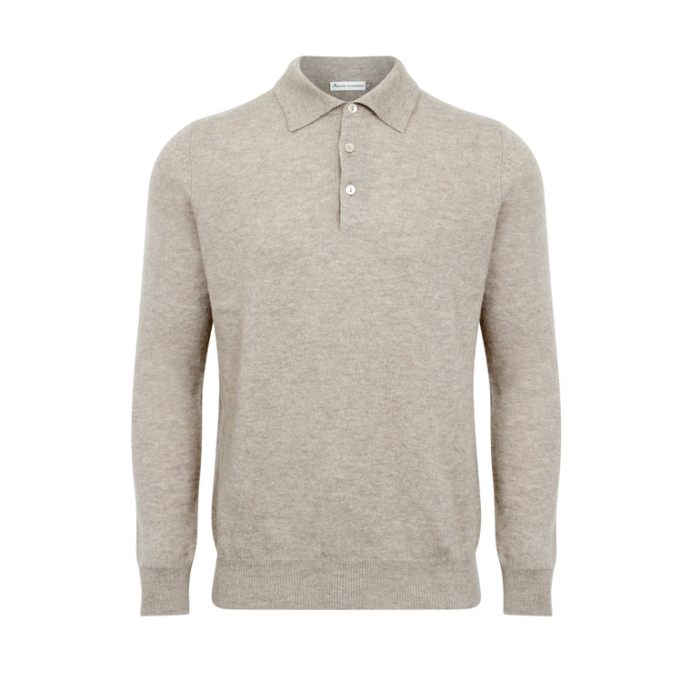 Lomond - Mens Cashmere Polo Shirt Sweater