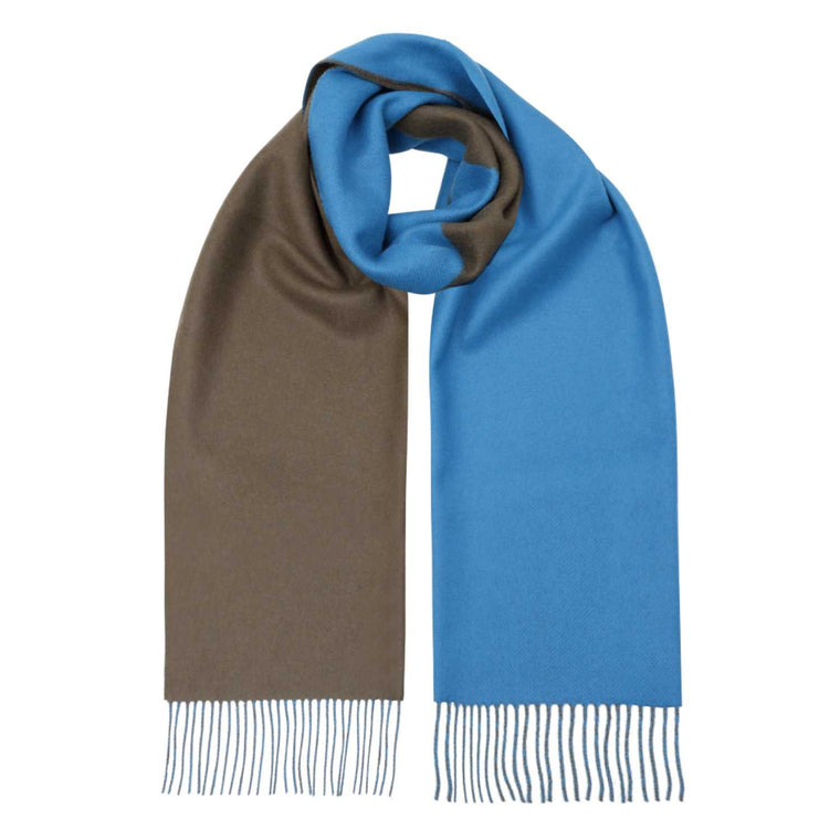 Lomond - Long Reversible Cashmere Scarf