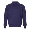 Mens Denim Blue Cashmere Sweater | Jumper | Polo Shirt | buy now at The Cashmere Choice London