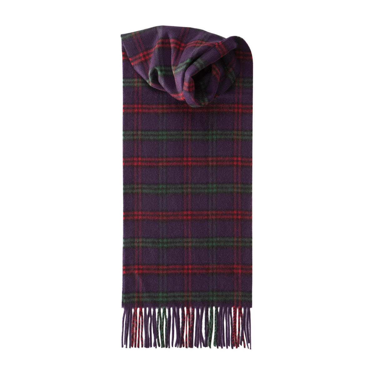 Johnsons of Elgin | Montgomerie Tartan Check Cashmere Scarf | buy at The Cashmere Choice | London