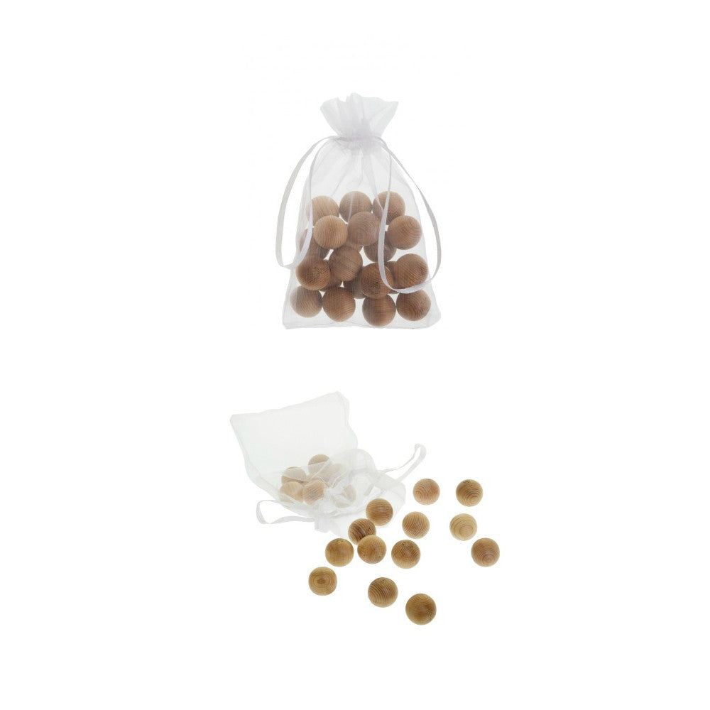 Total Wardrobe Care - Anti-Moth - Canada Red Cedar Balls (Pack of 20)