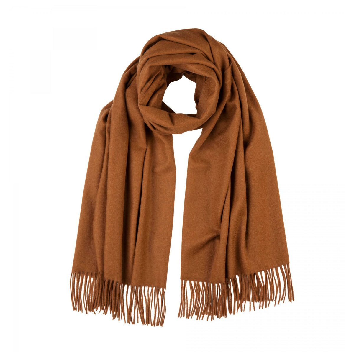 Lomond Cashmere | Vicuna Brown Cashmere Stole | Wrap | Large Scarf | Shop at The Cashmere Choice | London