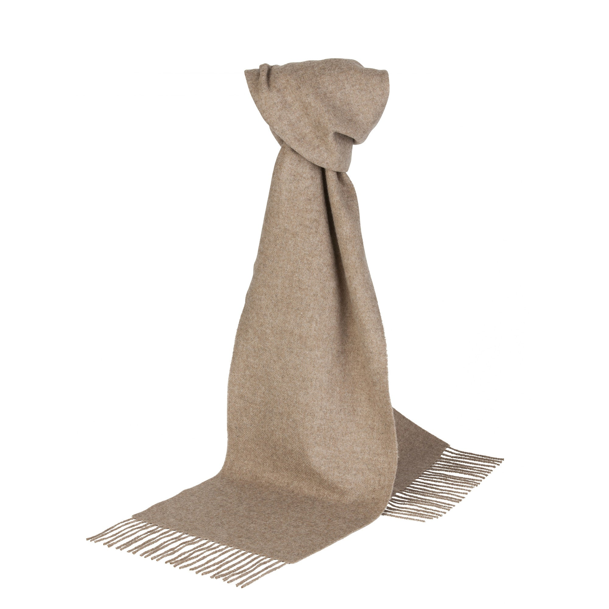454fa2e8d0e Royal Speyside - Lambswool Scarf - Solid Colour - The Cashmere Choice