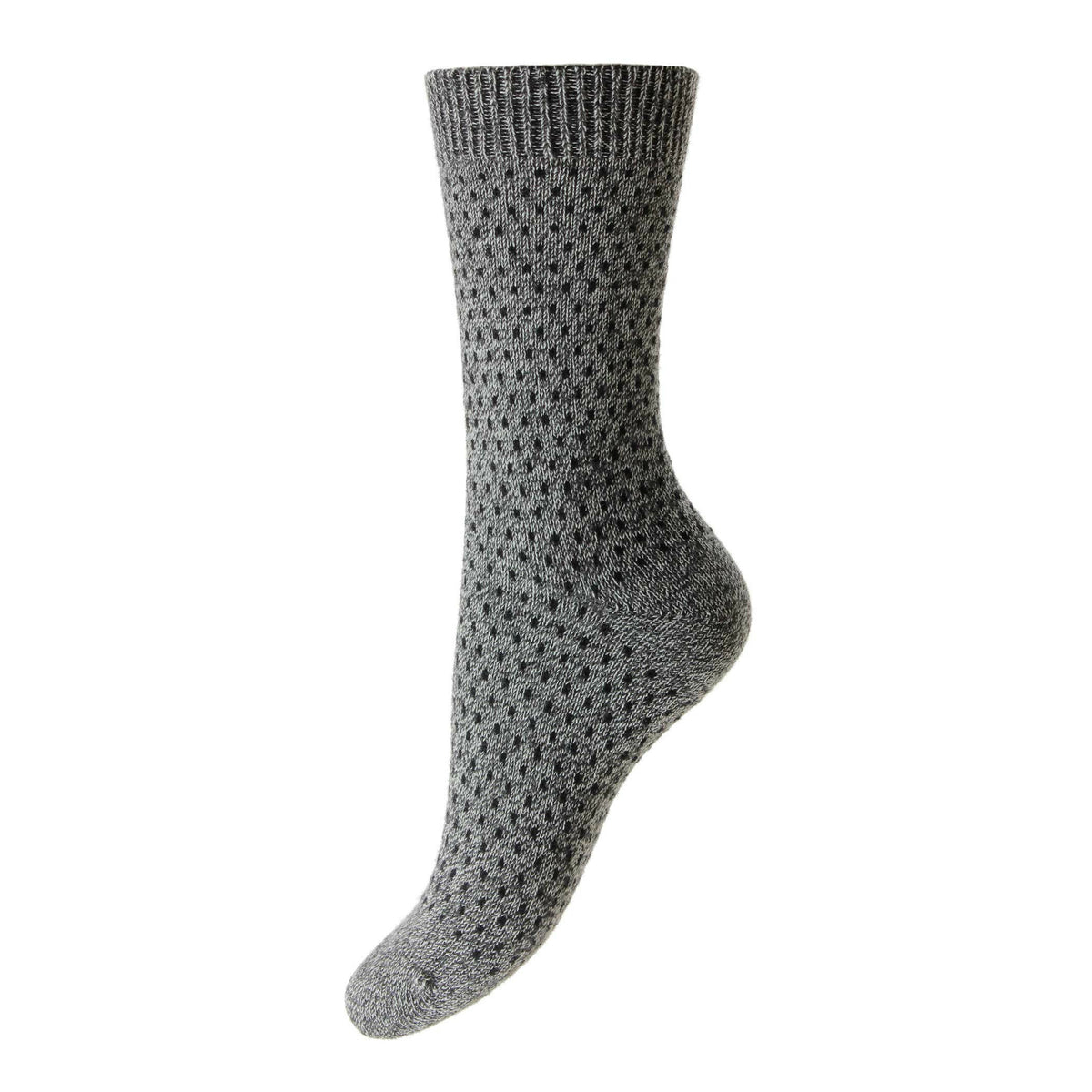 Pantherella - Ladies Cashmere Socks - W756 Dotty Socks