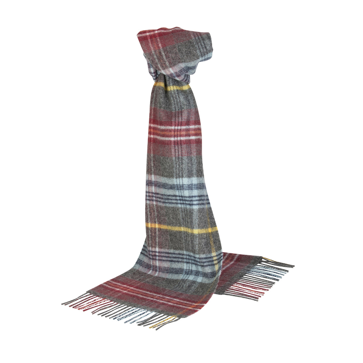 Lomond - Lambswool Scarf - Scottish Tartan
