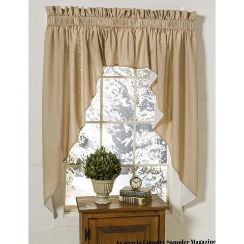 EXTRA VALANCE for Cottage Tailored Swags