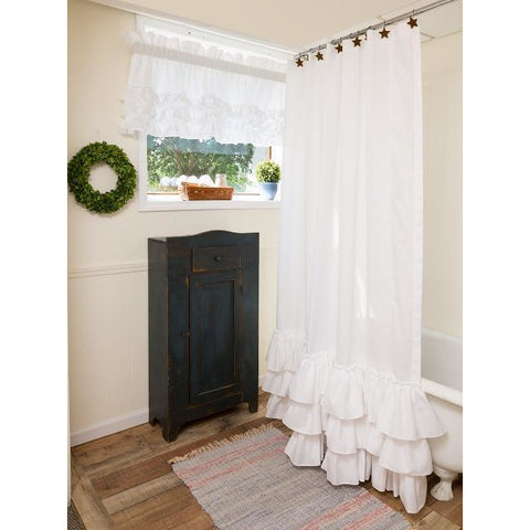 Kimberly Ruffle Shower Curtain