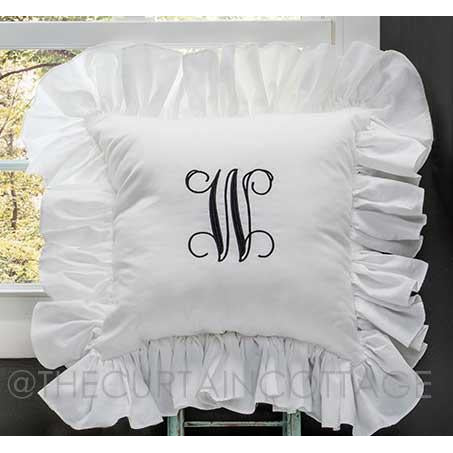 Cottage Ruffled Pillow