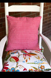 Gingham Check Pillows