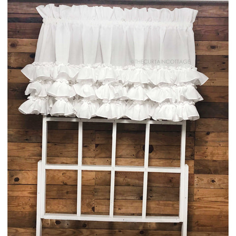 Kimberly Ruffled Valance