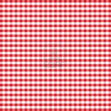 Cottage Gingham Ruffled Curtains