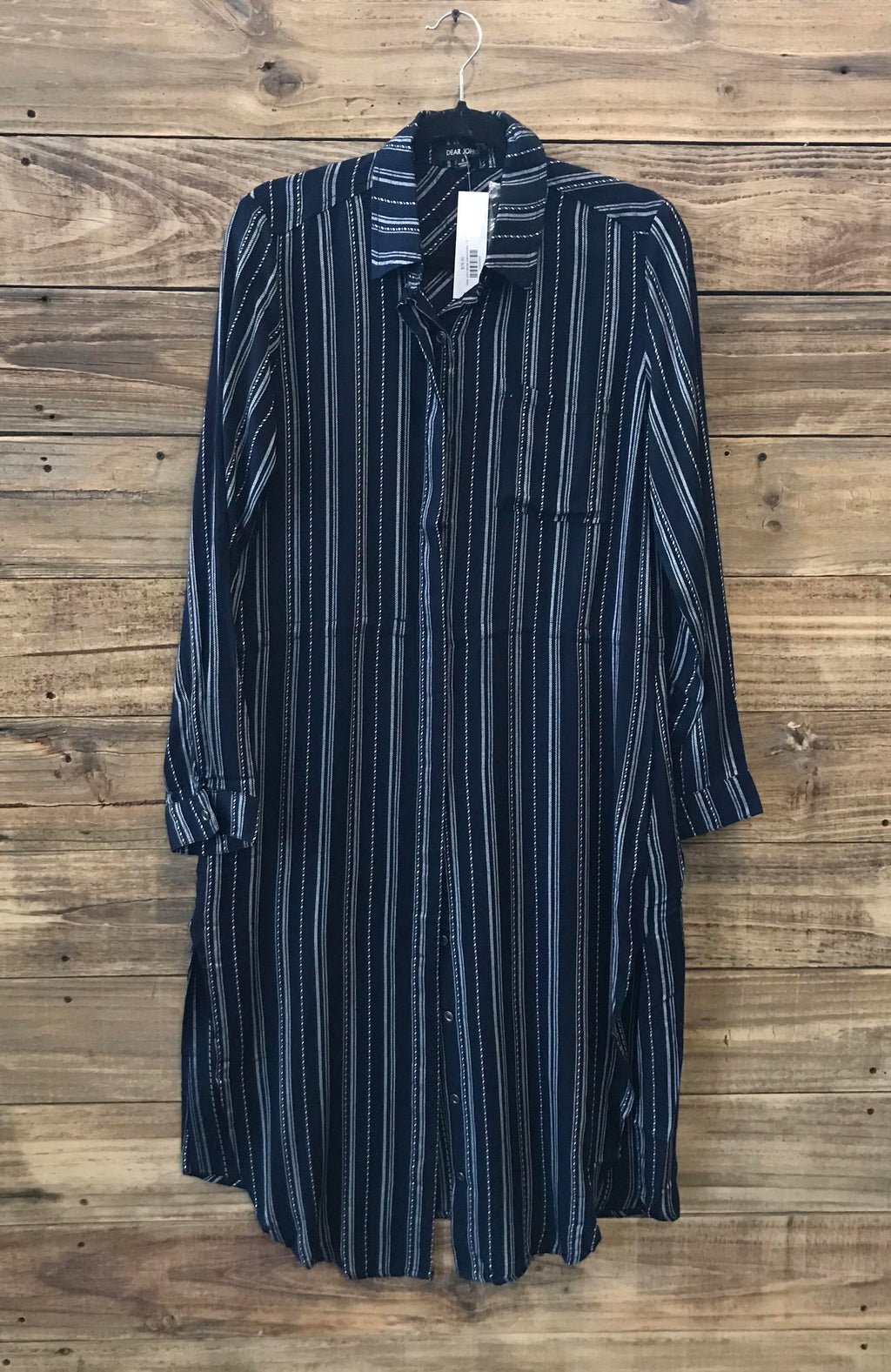 Dear John stripe dress/duster