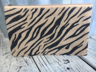 TRS Tiger Stripe cosmetic bag