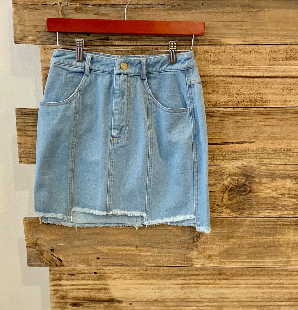 Entro denim skirt