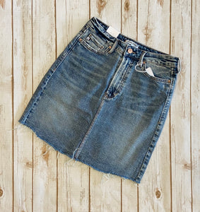 Dear John Blue Jean Skirt