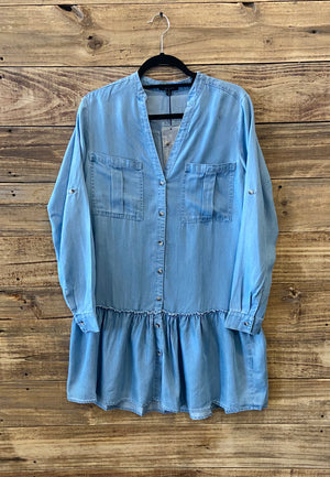 Dear John Blue Jean Dress