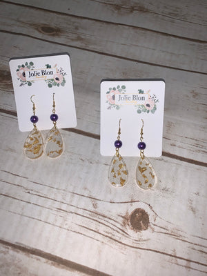 Jolie Blon Gameday earrings
