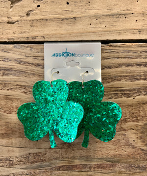CS Earrings- St. Patties Day