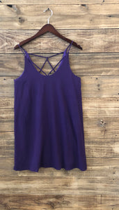 She+Sky spaghetti strap cami dress