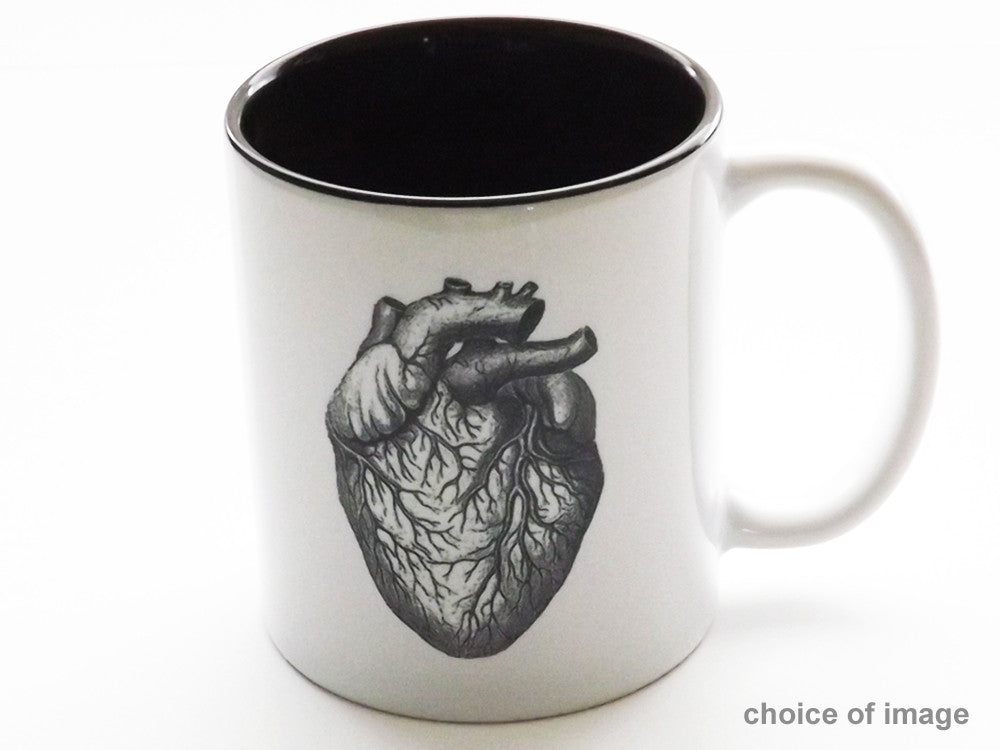 Medical Theme Ceramic Coffee MUG Choice of Image med student graduation gift teacher nurse doctor-Art Altered